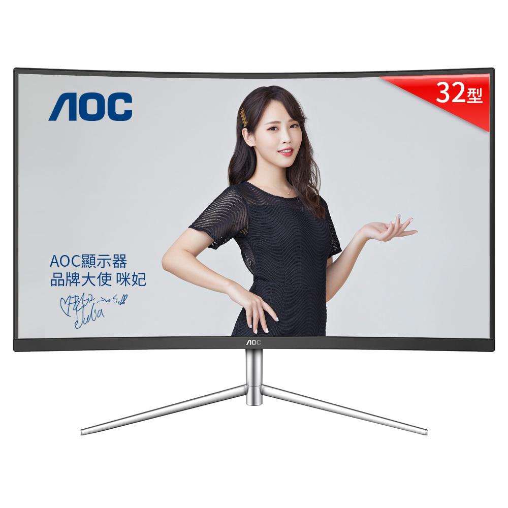 AOC CQ32V1 32型 2K電競曲面顯示器