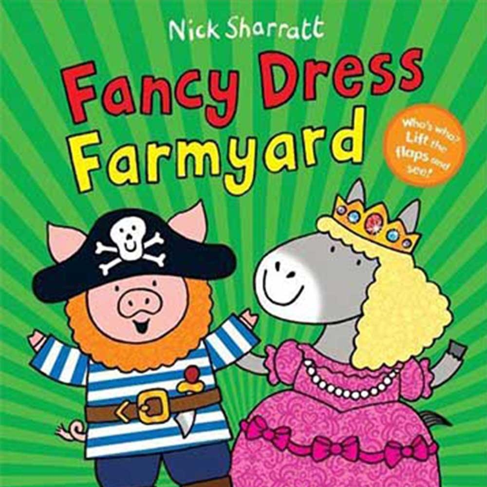 Fancy Dress Farmyard 農場變裝派對猜猜翻翻書