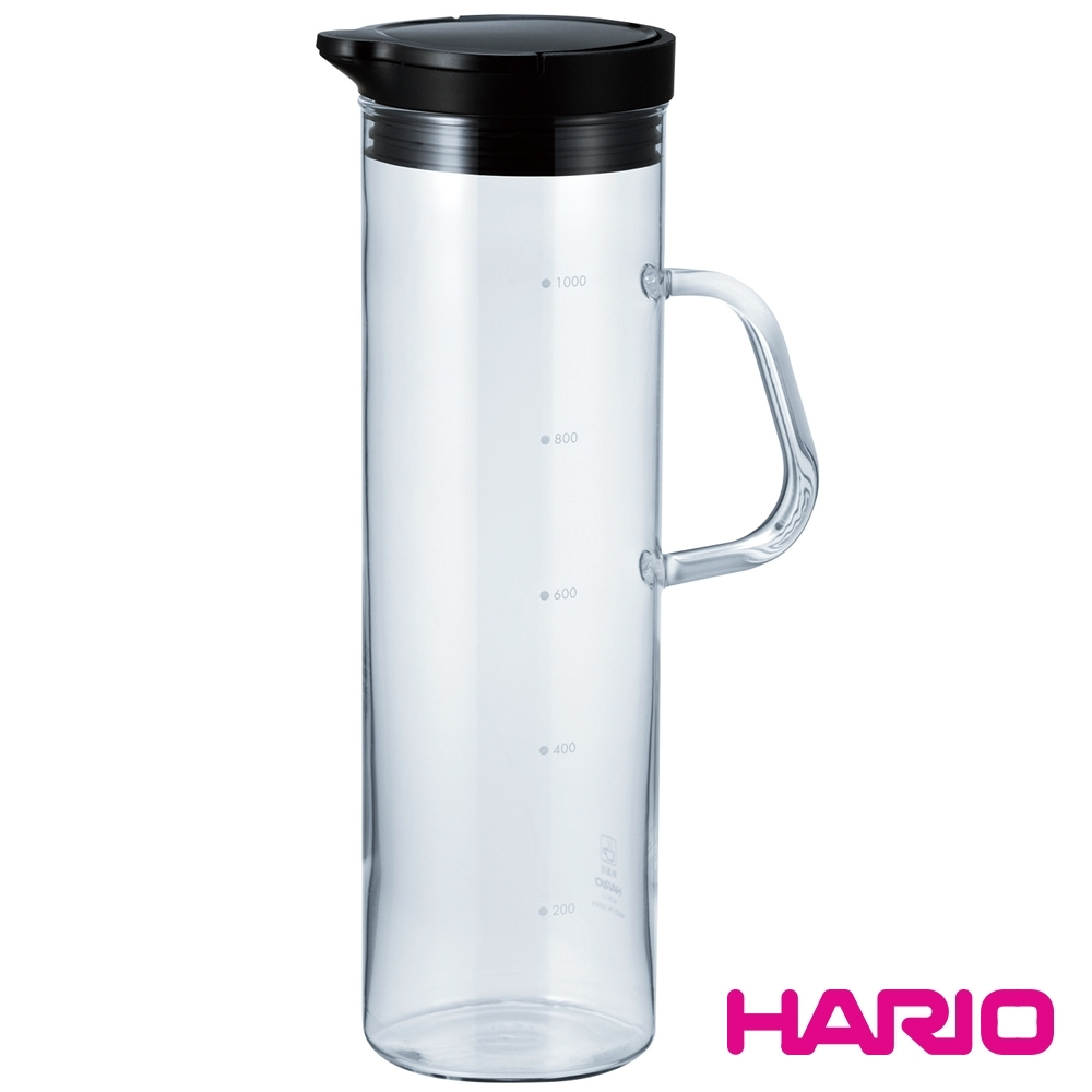 HARIO 酷炫黑按壓式冷水壺/ WTP-11-B
