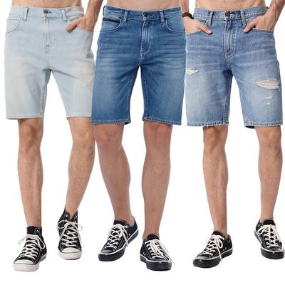【時時樂限定】LEE熱銷男生牛仔短褲-四款選