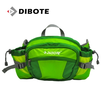 迪伯特DIBOTE 多功能戶外休閒透氣腰包/背包 (綠) -快速到貨