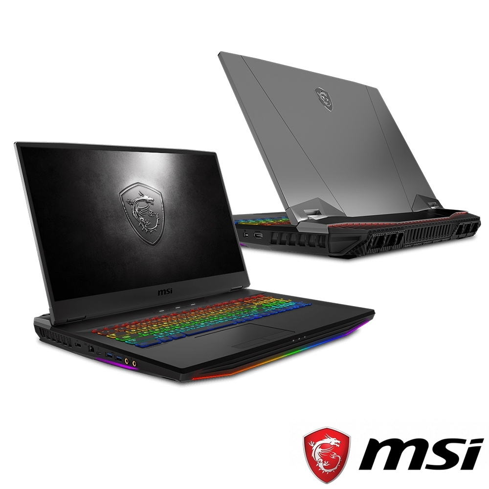 MSI微星 GT76-043 17吋電競筆電(i9-9900K/RTX2070/32G)