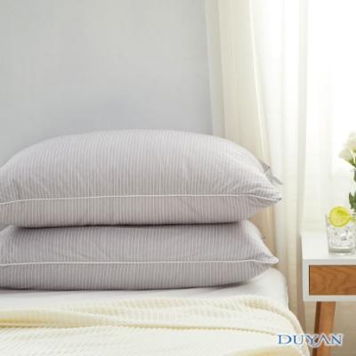DUYAN竹漾-日系涼感透氣快眠枕-淺灰色