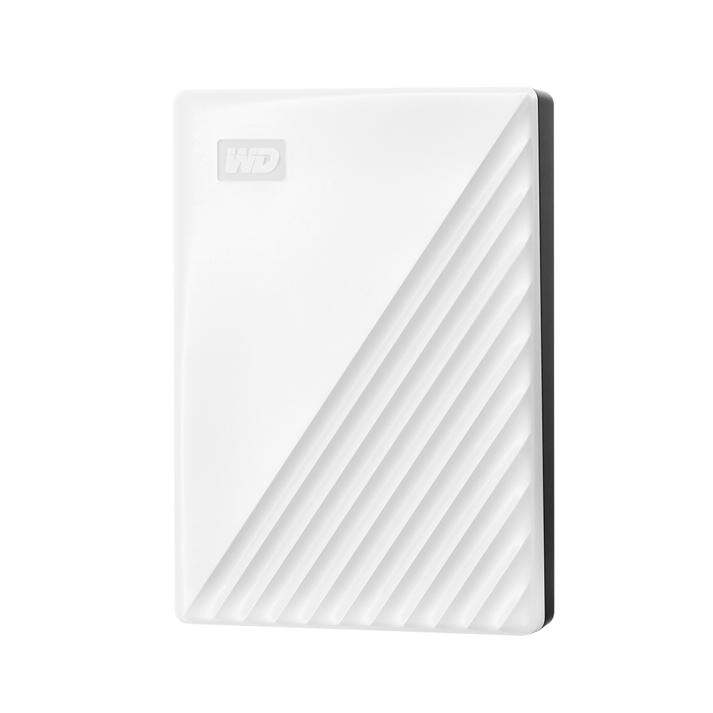 WD My Passport 4TB(白) 2.5吋行動硬碟