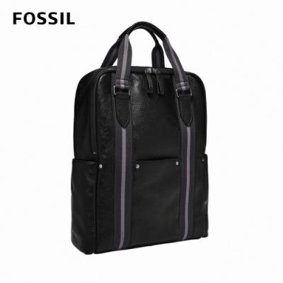 FOSSIL Houston 商務型兩用後背包(可入13吋筆電)-黑色 MBG9541001