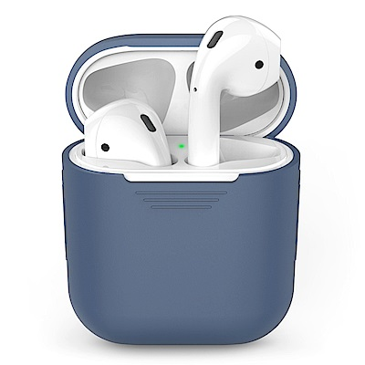 AHAStyle PodFit - AirPods 專用矽膠保護套 深藍色