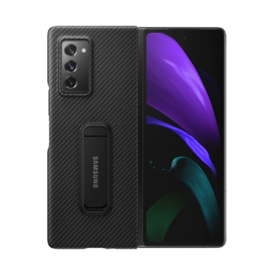 SAMSUNG Galaxy Z Fold2 / Z Fold2 5G Aramid 原廠立架式保護殼 (公司貨-盒裝)