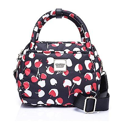 VOVAROVA空氣包-氣質兩用包-Cherrypicks(Black&Red)