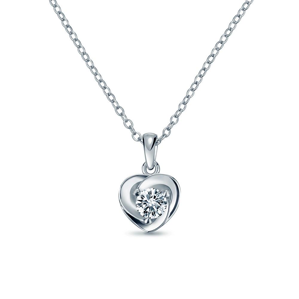 Alesai 艾尼希亞鑽石 30分 14K 鑽石項鍊 (3選1) (APF38)