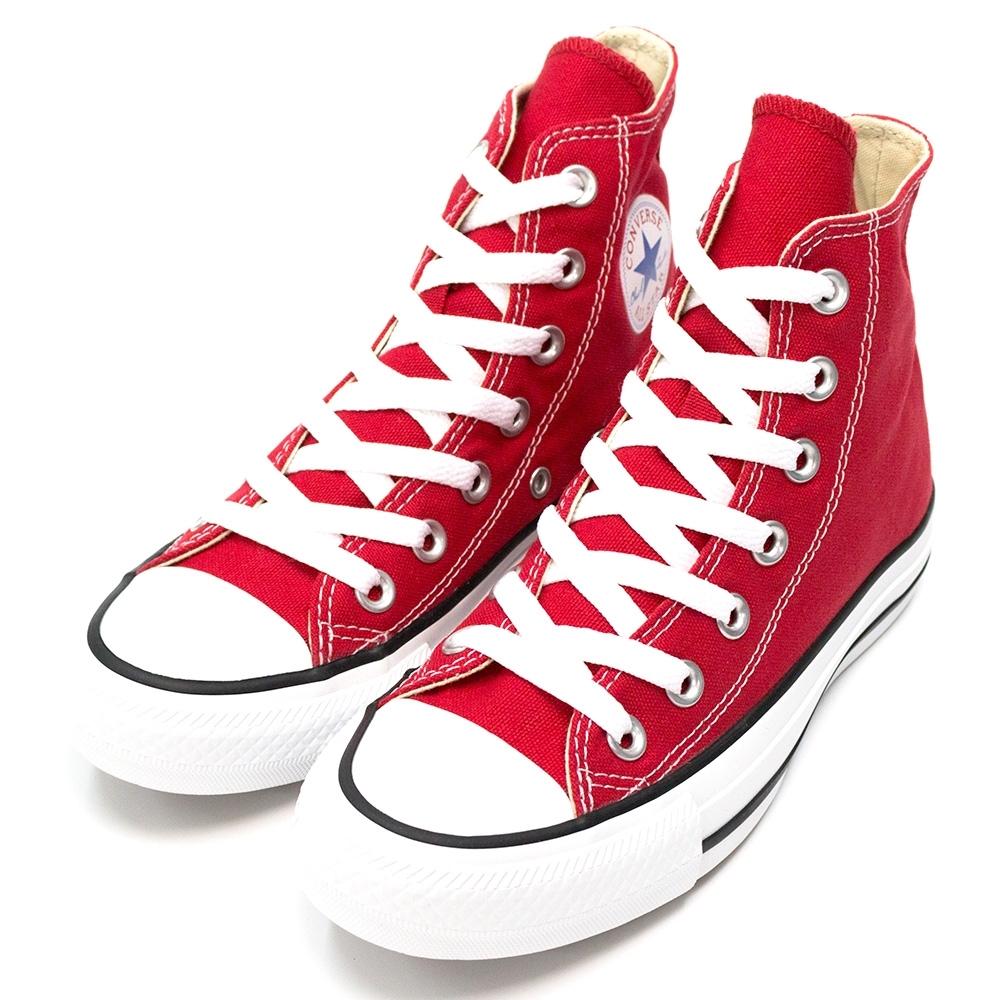 CONVERSE ALL STAR 男女款 高筒帆布鞋-紅 M9621C