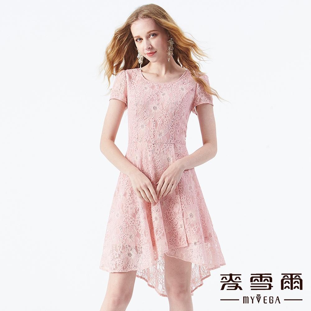 【麥雪爾】法式立體雕花蕾絲洋裝 @ Y!購物