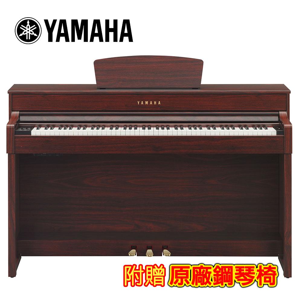 [無卡分期-12期] YAMAHA CLP-535M 88鍵標準數位電鋼琴 桃花心木色款