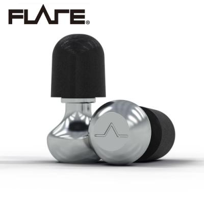 Flare Isolate 2 系列鋁製專業級英國防躁耳塞 NAT 科技銀色款