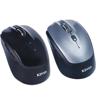 KINYO 無所拘束-藍牙3.0雙模2.4G滑鼠 GBM1820
