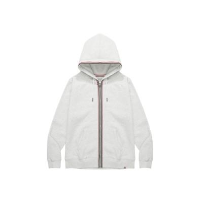 CACO-織帶刷毛外套-情侶款-女【VAR030】