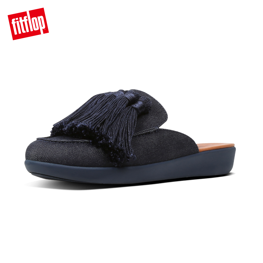 FitFlop SERENE穆勒鞋丹寧色