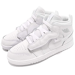 Nike 籃球鞋 Jordan 1 Mid 運動 童鞋