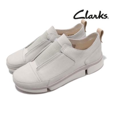 Clarks 休閒鞋 TriVerve Slip 男鞋