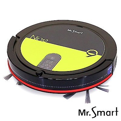 Mr.Smart  9S全新再進化 高速氣旋吸塵掃地機器人(亮寶石綠)