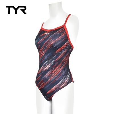 美國TYR Streak Diamondfit 女用連身三角泳裝