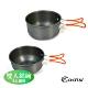 ADISI 雙人鋁碗組 AC565007 | 2人適用 (導熱佳、攜帶式、登山、戶外露營) product thumbnail 1