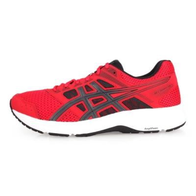 ASICS GEL-CONTEND 5 男慢跑鞋-路跑  紅黑