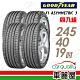 【固特異】EAGLE F1 ASYMMETRIC 3 ROF F1A3R 失壓續跑輪胎_四入組_245/40/19 product thumbnail 1