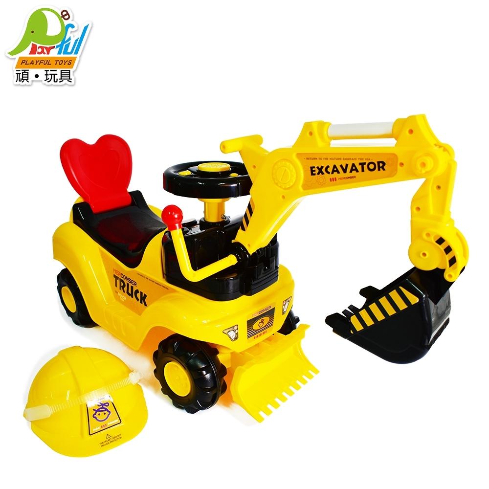 Playful Toys 頑玩具 學步騎乘工程車