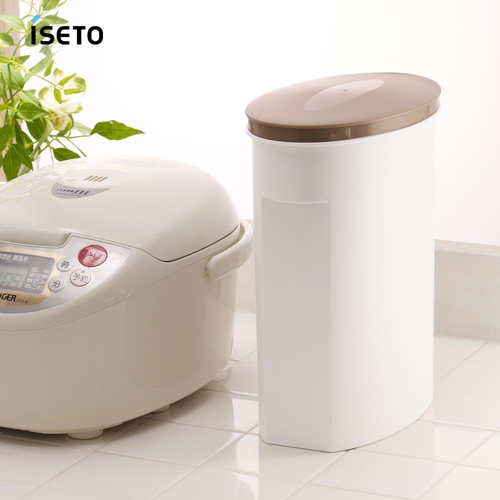 【nicegoods】日本ISETO 不透光雜糧保鮮儲米桶-5kg