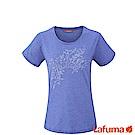 LAFUMA-女VEGETAL 排汗短袖T恤-LFV113838411-藍