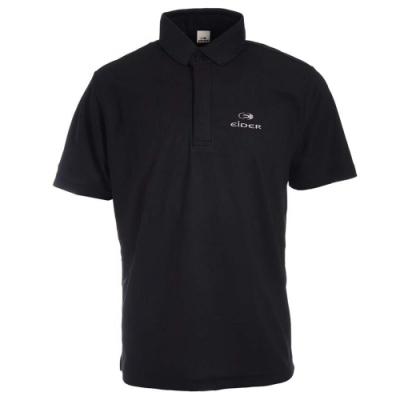 法國【EiDER】男排汗透氣抗UV短袖POLO衫 /  EIT1754黑
