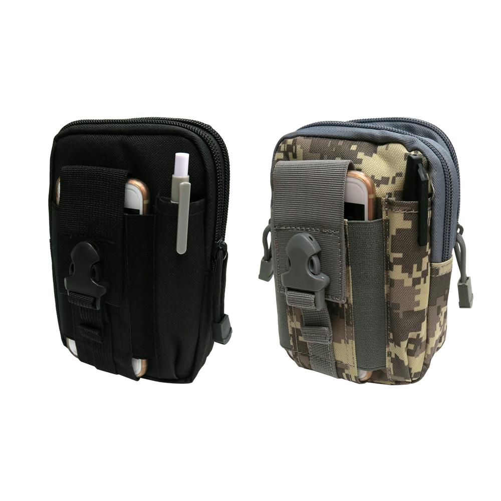 帆布戰術腰包 防潑水 方便攜帶 多功能 運動腰包 兩款任選-急速配