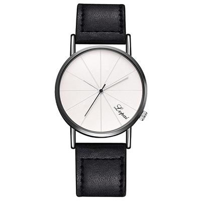 Watch-123 歐美潮流米字錶盤摩登設計手錶 (3色任選)