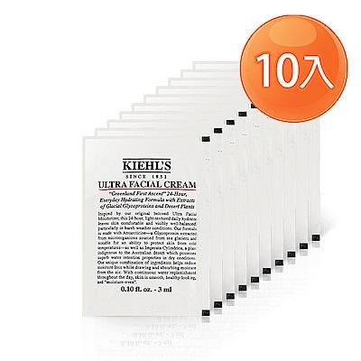 Kiehl契爾氏 冰河醣蛋白保濕霜  3 mlx 10