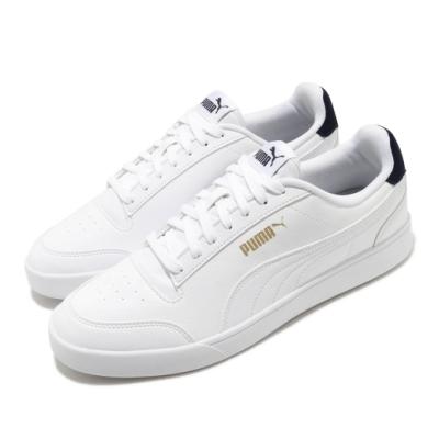Puma 休閒鞋 Shuffle 低筒 運動 男女鞋 基本款 簡約 舒適 情侶穿搭 白 金 30966801