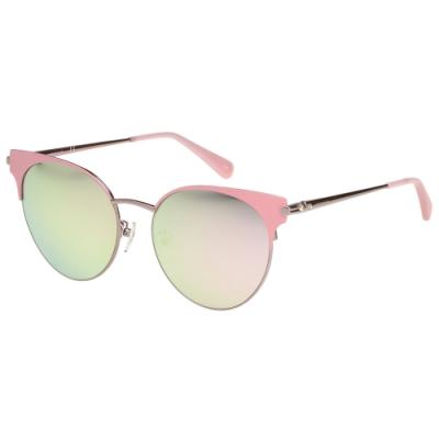 LONGCHAMP 水銀面 太陽眼鏡 (粉色)LO114