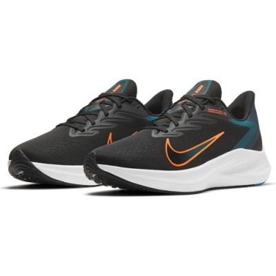 NIKE 慢跑鞋 運動鞋 緩震 訓練 男鞋 黑 CJ0291013 ZOOM WINFLO 7