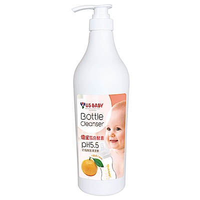 即期品 優生酵素奶瓶清潔劑-橘子精華1000ML-6入/箱 (2019年6月效期)