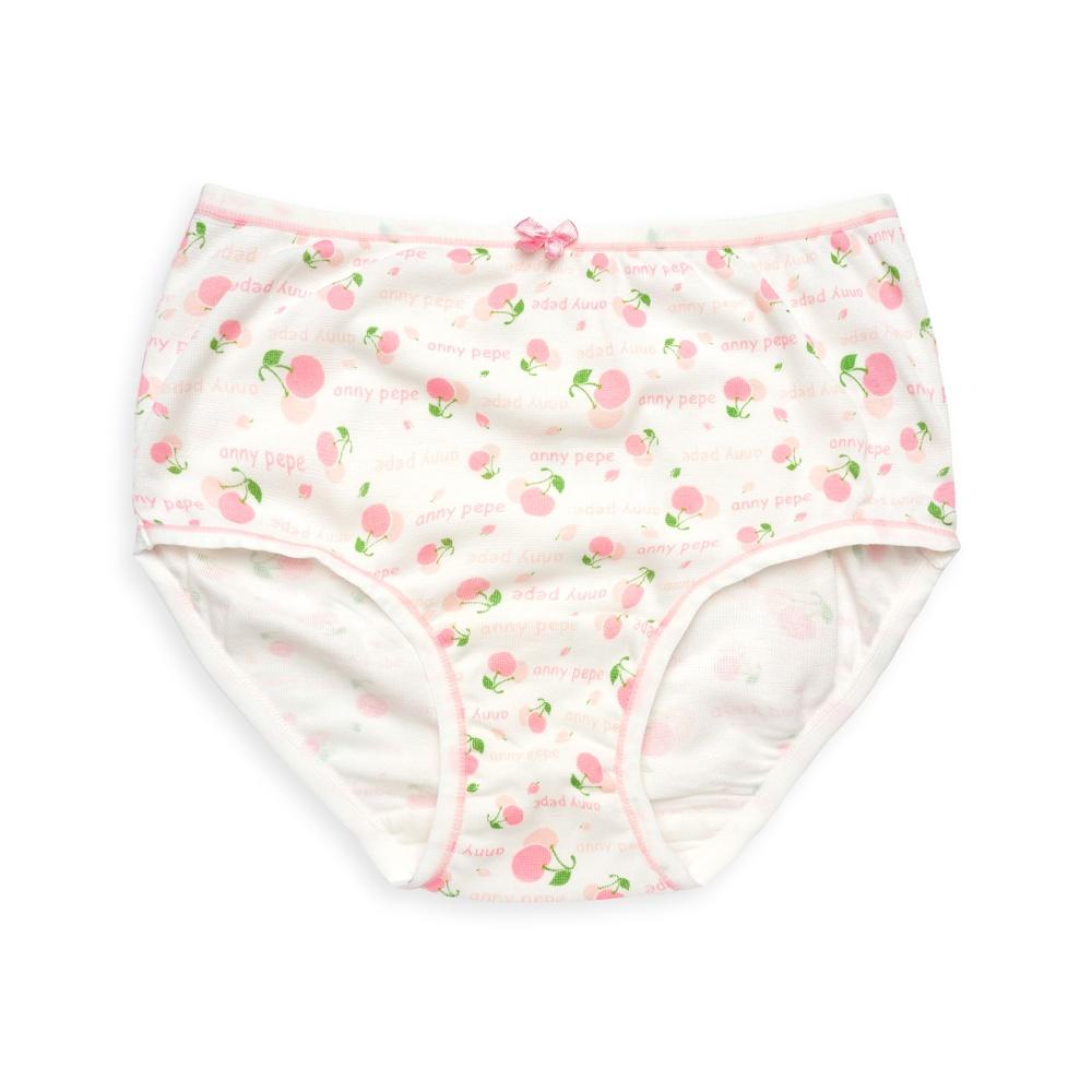 anny pepe 兒童內褲 排汗紗女童三角褲-水蜜桃