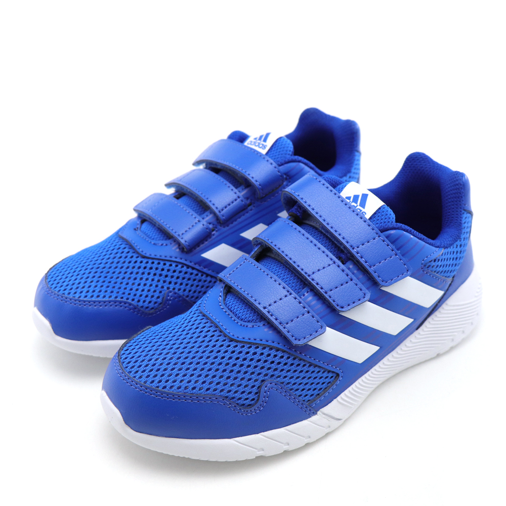 ADIDAS-中大童慢跑鞋CQ0031-藍
