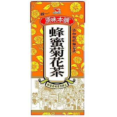 統一 原味本舖-蜂蜜菊花茶 375ml-24入/箱