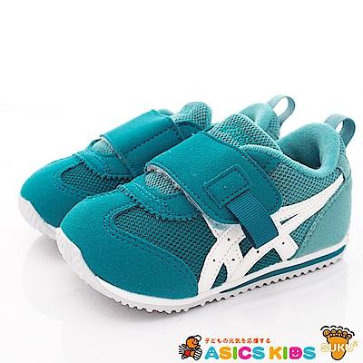 亞瑟士SUKU2機能鞋 經典護足款 BON71-301藍綠(小童段)