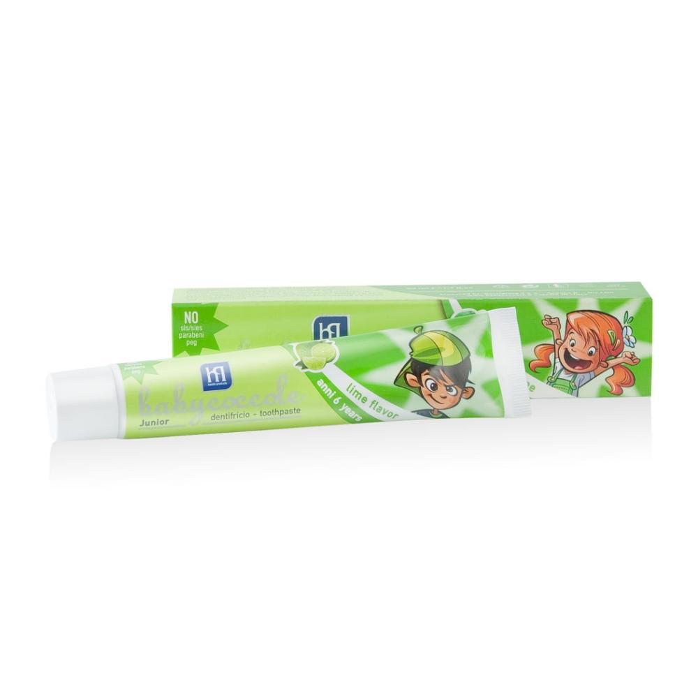 寶貝可可麗 babycoccole 兒童牙膏-青檸口味 (6-12歲適用)
