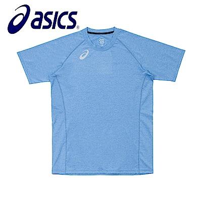 Asics 亞瑟士 男女短袖T恤 藍 K31805-43