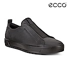 ECCO ECCO SOFT 8 M 時尚單色套入式休閒鞋  男-黑