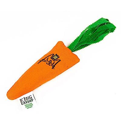 King Catnip北美天然有機貓草 貓草玩具-蘿蔔拔不動-15cm(不含羽毛)