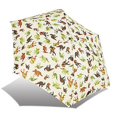 RAINSTORY  JURASSIC WORLD抗UV輕細口紅傘