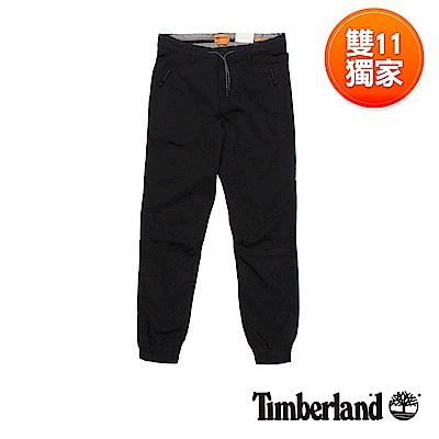 Timberland 男款黑色SLS Waukwevan慢跑褲