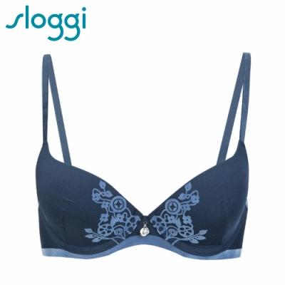 sloggi Luxe Allure系列 均薄罩杯內衣 百搭藍