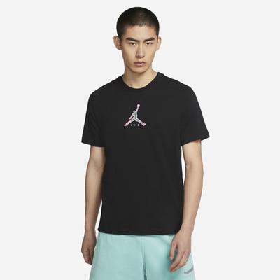 Nike J BRAND 23 SWOOSH SS CREW 男短袖上衣-黑-CZ8379010